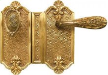 Double Door Rim Lock Louis XIV Style