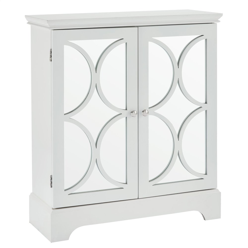 507225WT In By Worldwide Homefurnishings In Regina, SK   Viola Console/ Cabinet In White