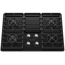 30-Inch 4-Burner Gas Cooktop, Architect® Series II - Black