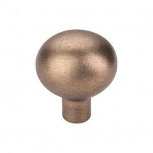 Aspen Large Egg Knob 1 7/16 Inch - Light Bronze