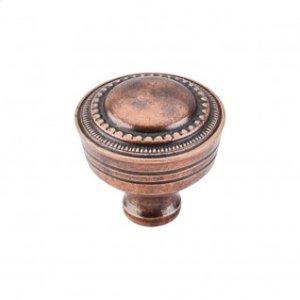 Contessa Knob 1 1/4 Inch - Old English Copper