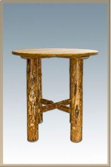 Glacier Country Log Bistro Table