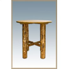 Glacier Country Log Bistro Table