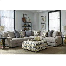 3-pc Sectional with Ottoman