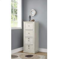 Hilton 4 Drawer Tall File Cabinet Product Image