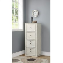 Hilton 4 Drawer Tall File Cabinet