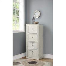 Hilton 4 Drawer Tall File Cabinet