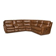 5 pc Reclining Sectional