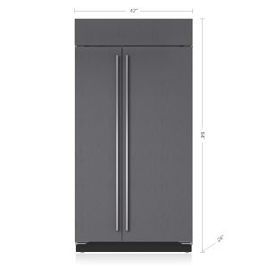 "Sub-Zero42"" Classic Side-by-Side Refrigerator/Freezer - Panel Ready"