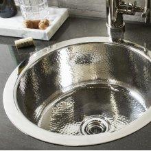 Round Stainless Bar Sink