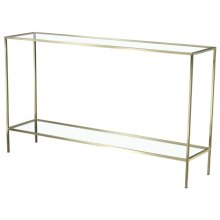 Aroma Rectangular Console Table