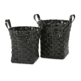 Carswell Recycled Tire Baskets - Set of 2