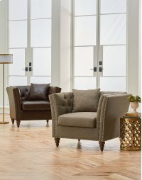 Uph Dark Chair W/pillows Product Image