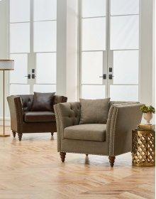 Uph Dark Chair W/pillows