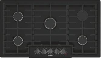 800 Series Gas Cooktop 36'' Black NGM8646UC
