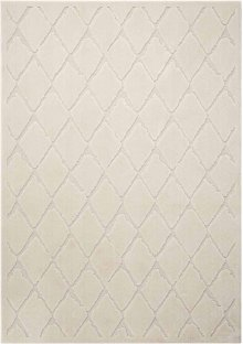 Gleam Ma601 Ivory Rectangle Rug 5'3'' X 7'3''
