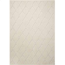 Gleam Ma601 Ivory Rectangle Rug 5'3'' X 7'3''