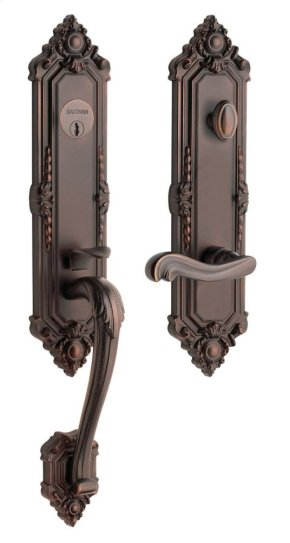 Venetian Bronze Kensington Handleset