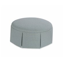 Taylor Made Round Ottoman