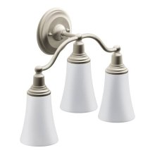 Rothbury brushed nickel bath light
