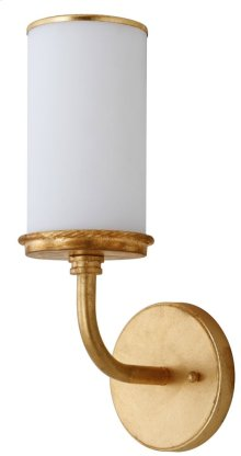Lorena Wall Sconce - Gold Shade Color: White