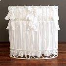 Gias Rose Jadore Cradle Bedding White Product Image