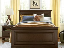 Panel Bed (Full) - Classic Cherry