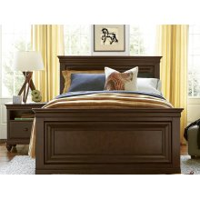 Full Panel Bed - Classic Cherry