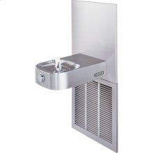 Elkay Slimline Soft Sides Fountain ADA Non-Filtered 8 GPH, Stainless
