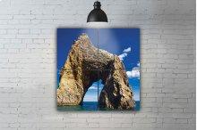 """rock On the Ocean"" artwork"