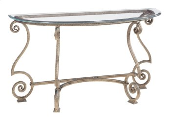 Solano Console Table Glass Top and Base Product Image