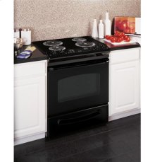 "GE® 30"" Slide-In Electric Range with Standard Clean Oven"