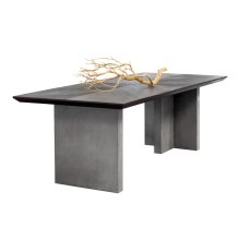 Bane Dining Table - Brown