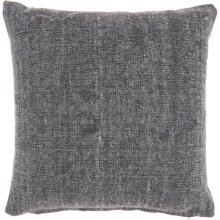 """Life Styles Gt626 Charcoal 18"""" X 18"""" Throw Pillows"""
