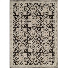 Chenille Lattice Onyx Rugs