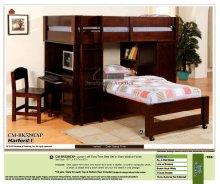 Hartford I Junior Loft Twin/Twin Bed Set