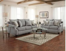Accent Chair in Mill Gray