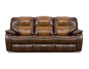 Double Power Reclining Sofa with Dropdown Table Product Image