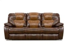 Double Power Reclining Sofa with Dropdown Table