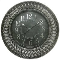 CLOCK ANTIQUE SILVER FINISH Product Image