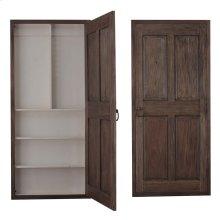 Edinburgh Narrow Wine Door Cabinet Left Opening