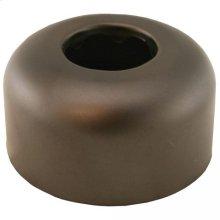 """Oil Rubbed Bronze Escutcheon 1-1/4"""" Tubular Box Pattern 3"""" OD"""