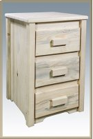 Homestead Nightstand with 3 Drawers Product Image