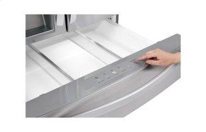 30 cu. ft. Super Capacity 4- Door French Door Refrigerator w/CustomChill® Drawer