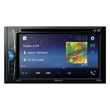 "Multimedia DVD Receiver with 6.2"" WVGA Display, Built-in Bluetooth® and Remote Control Included"