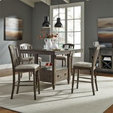 5 Piece Gathering Table Set