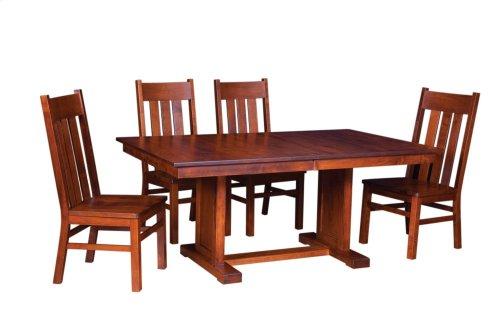"42/68-2-12"" Trestle Table"