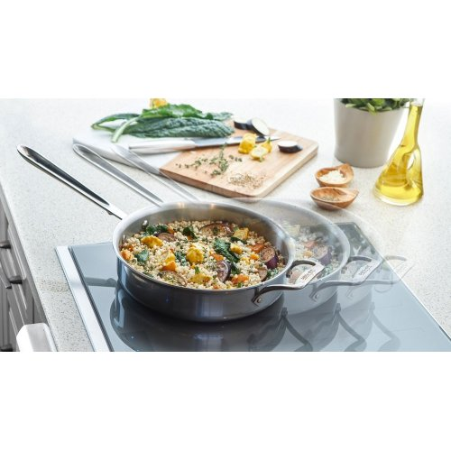 36-Inch Masterpiece® Liberty Induction Cooktop, Silver Mirror, Frameless