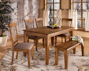 D19925 rectangular dining room table by ashley furniture for Furniture in everett wa