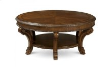 Old World Round Cocktail Table